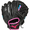 "Mizuno Prospect Finch Fastpitch 10"" Black & Pink 2017 Softball Glove"
