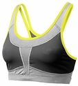 Mizuno Smash Charcoal & Grey Athletic Sport Top