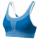 Mizuno Smash Diva Blue & Columbia Blue Athletic Sport Top