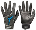 Mizuno Techfire Leather Palm Batting Gloves - in 2 Colors