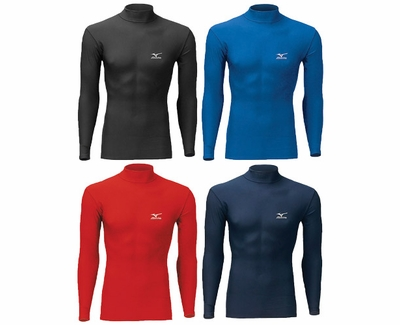 Mizuno Thermo Long Sleeve Compression Shirt - in 4 Colors