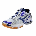Mizuno Wave Bolt 4 Women's White & Royal Volleyball Shoes