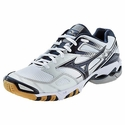 Mizuno Wave Bolt 3 Women's White & Navy Volleyball Shoes