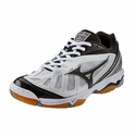 Mizuno Wave Hurricane Women's White & Black Volleyball Shoes