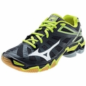 Mizuno Wave Lightning RX3 Women's Black & Lime Volleyball Shoe