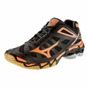 Mizuno Wave Lightning RX3 Women's Black & Orange Volleyball Shoe