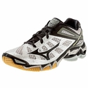 Mizuno Wave Lightning RX3 Women's Silver & Black Volleyball Shoe