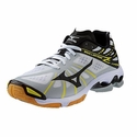 Mizuno Wave Lightning Z Men's White & Black Volleyball Shoes