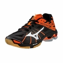 Mizuno Wave Lightning Z Women's Black & Orange Volleyball Shoes