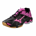Mizuno Wave Lightning Z Women's Black & Pink Volleyball Shoes