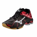 Mizuno Wave Lightning Z Women's Black & Red Volleyball Shoes