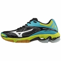 Mizuno Wave Lightning Z2 Women's Black & Blue Atoll Volleyball Shoes