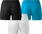 Mizuno Women's Low Rise Padded Sliding Compression Shorts - in 3 Colors
