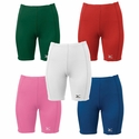 Mizuno Women's Low Rise Sliding Compression Shorts - in 9 Colors