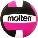 Molten Black & Hot Pink Mini Volleyball