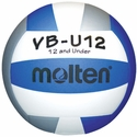 Molten Blue-White-Silver VB-U12 Youth Volleyball