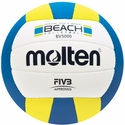 Molten BV5000 Blue-White-Yellow Adult Beach Volleyball