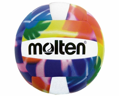 Molten Colorful Tie-Dye Camp Volleyball