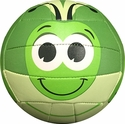 Molten Green Grasshopper Smiley Face Mini Volleyball