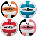 Molten L2 Volleyballs w/ H.S. Stamp - in 15 Colors