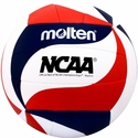 Molten NCAA Red, White, & Blue  Swirl Mini Volleyball