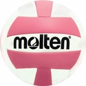 Molten Pink & White Mini Volleyball