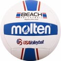 Molten Red White & Blue Mini Beach Volleyball