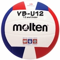 Molten Red-White-Blue VB-U12 Youth Volleyball