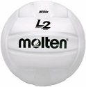 Molten White L2 Volleyball w/ H.S. Stamp