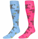 Monkeys & Bananas Over-Calf KraziSox - 2 Color Options