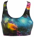 Galaxy Outer Space Sports Bras