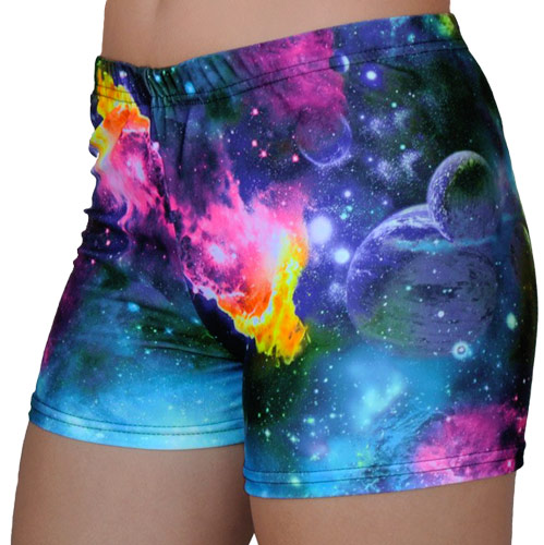 Colorful Outer Space Galaxy Planets Amp Cosmos Printed