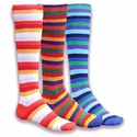 Multi-Color Prism Knee High Socks - 3 Color Options
