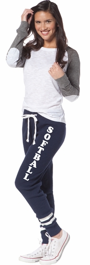 Navy Blue Game Day Jogger Pants - Choice of 22 Sports on Leg or Rear