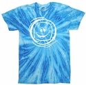 Neon Blueberry Tie-Dye T-shirt - in 6 Volleyball Designs