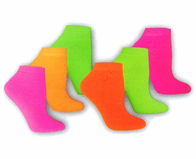 Colorful Footie Socks in Lots of Colors
