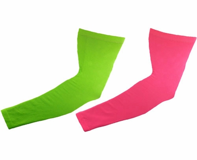 Neon Compression Arm Sleeves