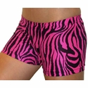 Neon Hot Pink Tiger Stripe Spandex