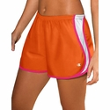 Orange & Pink Champion Double Dry Sport Shorts