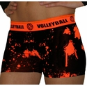 Orange Volleyball Splat Flip Band Spandex