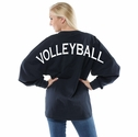 Oversize Game Day Jersey Pullovers in 5 Colors w/ optional Volleyball Imprint