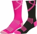 Pink Ribbon Aware Performance Crew Socks - 3 Color Options