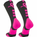 Pink Ribbon Baseline Aware Performance Crew Socks