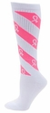 Pink Ribbon Cyclone Candy Stripe Knee High Socks