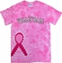 Pink Ribbon Tie Dye T-Shirt w/ Choice of 16 Sport Imprints