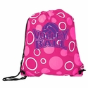 Pink Volleyball Bubble Dot Sling Packs