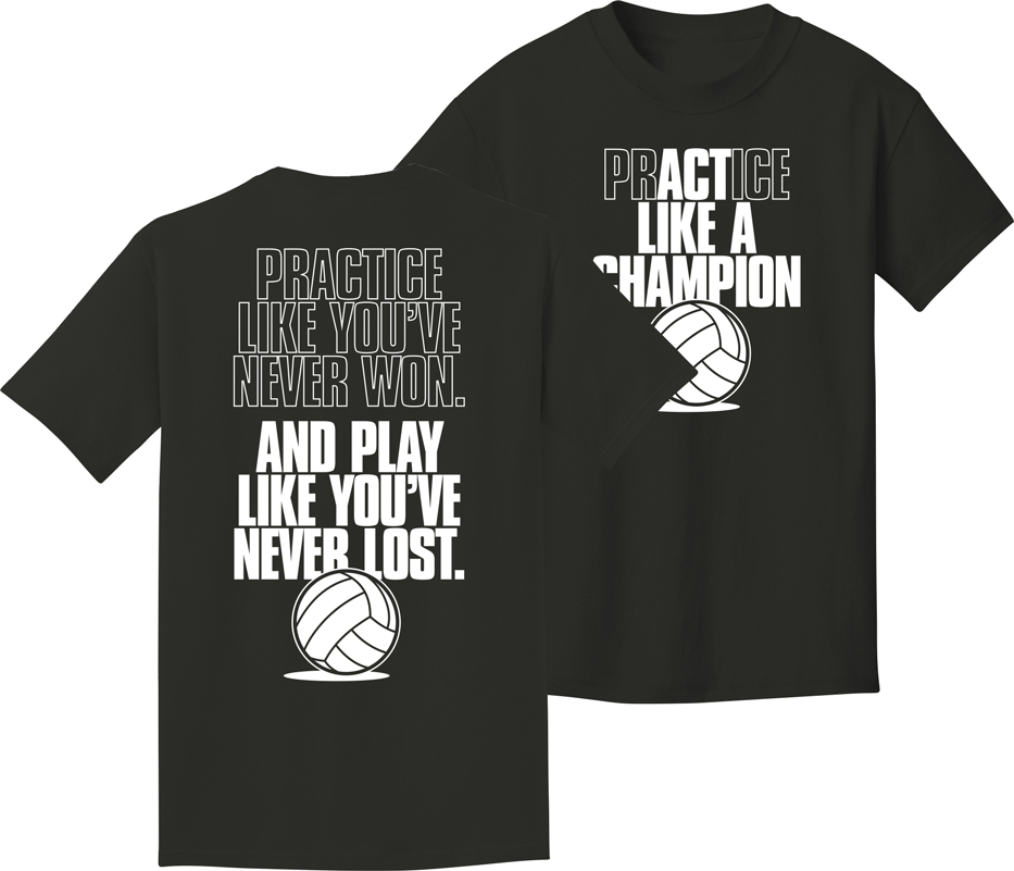 Volleyball Tee Shirt Design Ideas