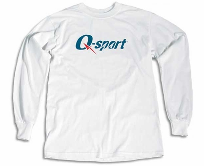 Q-sport Logo Long Sleeve Shirt - in 3 Shirt Colors