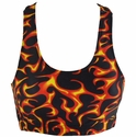 Fire & Flames Burning Sports Bras
