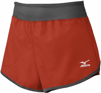 Mizuno Red & Grey Women's Cover Up Short